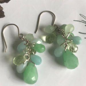 Ann Taylor Boho Beaded Dangle Earrings New 🌿